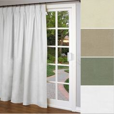 Thermalogic Weathermate Thermal Pinch Pleat Patio Panel Blackout Curtains, Windows, Patio, Shower, Home Decor, Rain Shower Heads, Decoration Home, Terrace, Room Decor