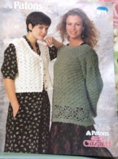 A personal favorite from my Etsy shop https://www.etsy.com/ca/listing/400615803/crochet-pullover-and-button-vest-pattern