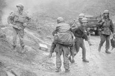 U. S Army 24th Infantry Div. wounded soldiers