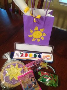 Tangled Party - goodie bag