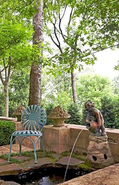 Beautiful Garden in Birmingham, Alabama ~ Home Designs