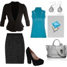 """""""Office Wear"""" by christinehege on Polyvore"""