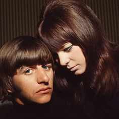 Ringo Starr and his ex-wife Maureen Cox.
