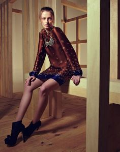 """Pallas"" | Maria Filó | Fashion Business | Outono-Inverno 2012"