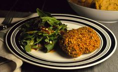 Restaurant Favorites: Trinity's Pecan-Crusted Chicken with Maple-Chipotle Mixed Greens Spain Vs, Pecan Crusted Chicken, Napa Style, Chipotle, Korea, Restaurant, Fresh, Dishes, Cooking