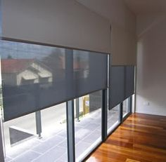 Dual Roller blinds (Ideal solution - need to research)