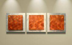 orange wall art - Google Search