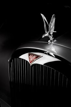 Alvis hood ornament..Re-pin...Brought to you by #CarInsurance at #HouseofInsurance in #Eugene, Oregon