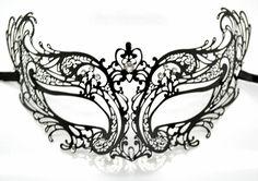 Stunning Laser Cut Masquerade Mask Costume Extravagant by Yacanna