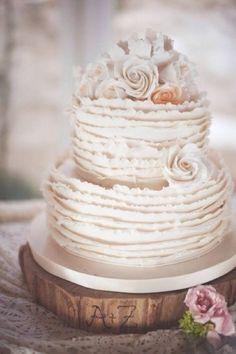 Mudei a idéia do bolo, não quero mais naked cake!! Gosto de um assim!!