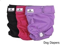Dog Diapers - outstanding collection. Have to view...