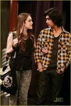 Jade West and Beck Oliver Beck From Victorious, Icarly And Victorious, Avan Jogia, Elizabeth Gillies, Beck Oliver, Jade And Beck, Victorious Nickelodeon, Liz Gilles, Jade West