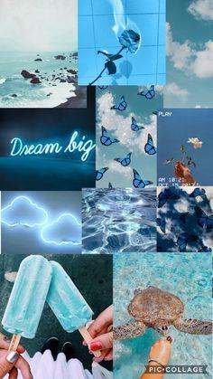 Light blue asthetic wallpaper