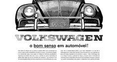 A Volkswagen anuncia o Fusca, modelo que se tornou sinônimo de carro popular no Brasil - 19/04/1960