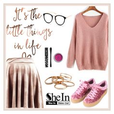 """Shein 2"" by amra-f ❤ liked on Polyvore featuring Boohoo and Kendra Scott"
