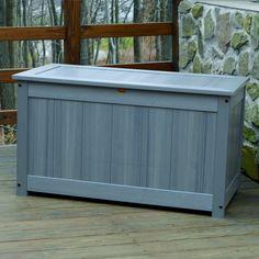 Highwood USA synthetic wood Large Deck/Patio Storage Box