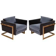 Milo Baughman - Lounge Chairs | From a unique collection of antique and modern armchairs at http://www.1stdibs.com/furniture/seating/armchairs/