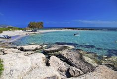 Spiaggia di Elafonissi, Creta, Grecia