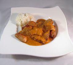 Ala`s Kunterbunt: Ey was kochsch du heute? - Hühnchen mit Erdnusssauce und Reis