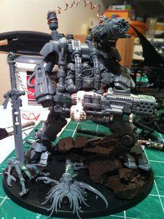 Image result for dreadknight shoulder mounted gun