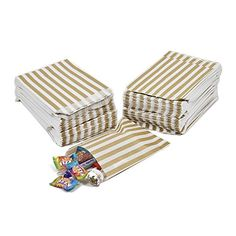 100 CANDY STRIPE PAPER BAGS SWEET FAVOUR BUFFET GIFT SHOP... https://www.amazon.co.uk/dp/B0174W88CS/ref=cm_sw_r_pi_dp_U_x_rIozAb3337EFP