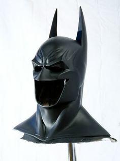 Batman Arkham Asylum Cosplay Cowl Iron Batman, Batman Cowl, Batman Arkham Asylum, Dark Knight, Rogues, Gotham, The Darkest, Cosplay, Costumes