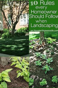 Kaila's Place  10 Rules Every Homeowner Should Follow When Landscaping