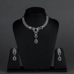 Featuring this American Diamond Necklace Set with Rodo Stones in our wide range of Sets. Grab yourself one. Now!