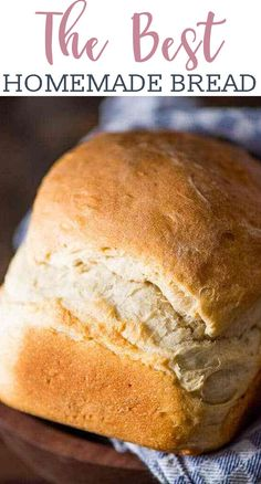 My grandma's easy country white bread recipe. This is a thick, rustic bread… My grandma's easy country white bread recipe. This is a thick, rustic bread with perfect texture and flavor. Make in the bread machine or in the oven. Egg And Bread Recipes, Easy Keto Bread Recipe, Best Keto Bread, Lowest Carb Bread Recipe, Easy Cake Recipes, Healthy Recipes, Keto Recipes, Almond Bread Recipe For Bread Machine, White Bread Machine Recipes