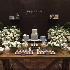 """Jaclyne Breault on Instagram: """"This dol with @sohappitogether last month was so good. Fresh white flowers with dark greenery and pops of anemones. We also used stone vessels, glass cloches and terrariums for a fun Restoration Hardware aesthetic."""""""