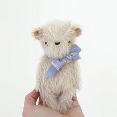 the dear ones | abominable snow bear | mohair bear
