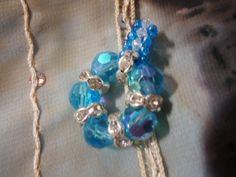 Pendentif aux couleurs aquatiques et brillantes : Pendentif par bijoux-et-creations