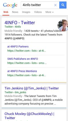 Twitter-Google more tweets in Google Search Live Today,  displaying more tweets in new  more prominent way  on #Mobile Devices.