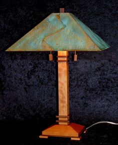 """Lake Superior aviable in 22"""",26"""",30""""&60"""" Shown in white q/s oak and antique copper shade"""