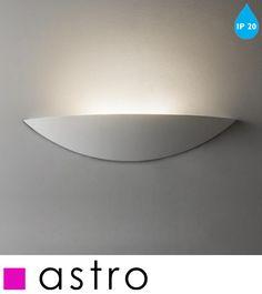 ASTRO 'SLICE LED' IP20 WALL LIGHT, WHITE FINISH - 7399 None