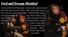 fred and george weasley funny quotes | FRED AND GEORGE WEASLEY!