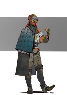 Modern Pirate by hugo-richard on DeviantArt 2d Character, Character Design References, Character Concept, Concept Art, Character Development, And So It Begins, Star Wars Rpg, Pop Culture Art, Character Design Inspiration