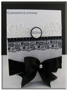 "Love this card, and the ribbon stamp is definitely on my ""to buy"" list!"