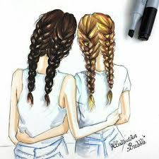 Image result for cute things to draw for your best friend