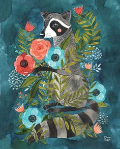"""Oana Befort: """"Racoon and Flora"""" - Just ordered this! :)"""