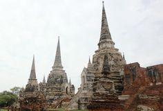 Wat Phra Si Sanphet stoepa. Thailand, Ayutthaya- Travelhype