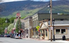 VERMONT ~ Manchester is home to many shops and restaurants in a classic New England setting. Abraham Lincoln and his family, summered here.
