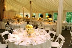 Evergreen Museum and Library Carriage House Tent Baltimore MD Historic Wedding Venue