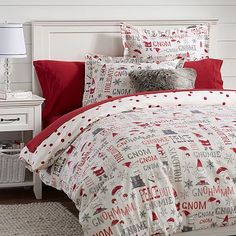 Holiday Flannel Duvet Cover Set - Gray Fair Isle... : Target ...