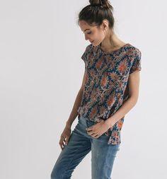 T-shirt imprimé Femme