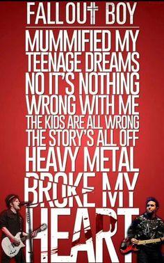 HEAVY METAL BROKE MY HEART | Centuries | Fall Out Boy | Single | American Beauty/American Psycho