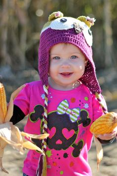 Taylor Joelle Owl Hats are perfect for fall photos!