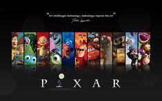Pixar Wallpaper by mushir.deviantart.com