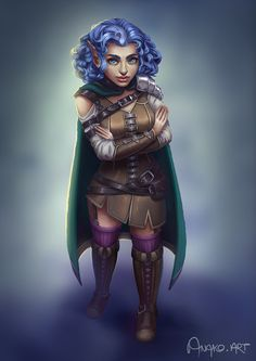 f Gnome Rogue Arcane Trickster Leather Armor Cloak female urban City undercity river hills mixed forest farmland lg Female Character Inspiration, Female Character Design, Fantasy Inspiration, Character Art, Dungeons And Dragons Characters, Dnd Characters, Fantasy Characters, Female Characters, Dnd Halfling