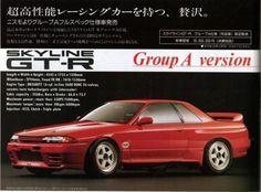 R32 Skyline GT-R Group A Version